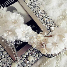Gorgeous Lady Round Toe Shoes for Wedding Shoes White high heel Lace Flower bridal wedding shoes Luxury  Formal Dress Shoes