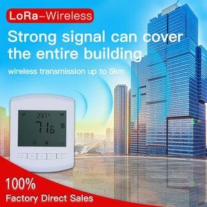 Image 4 - Không dây độ ẩm dữ liệu logger 470 MHz Đồng hồ đo độ ẩm Lora 433 Mhz nhiệt độ độ ẩm cảm biến gắn tường pin có thể thay thế được