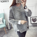 YiZiKKCO Brand Woman Sweaters Pullovers 2016 New Autumn Winter Knitted Sweater Womens Pullover Pull Femme Sweter Mujer WHD310