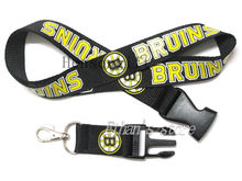 Boston Bruins Hóquei No Gelo Mobile Phone Neck Straps Cordão Chave Titulares Dos Passes(China)