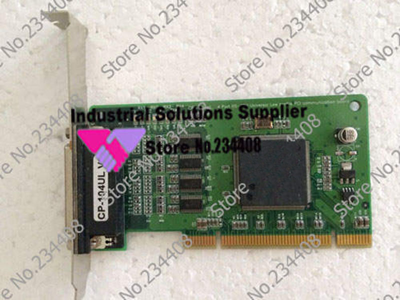 CP-104UL V2 4 Port RS-232 PCI serial card industrial motherboard 100% tested perfect quality industrial floor picmg1 0 13 slot pca 6113p4r 0c2e 610 computer case 100% tested perfect quality