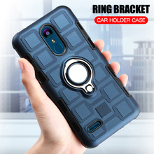 hot deal buy for lg k8 2018 case lg k9 case silicone shockproof cover for lg k8 2018 k9 ring stand phone case for lg k9 lmx210nmw lm x210nmw