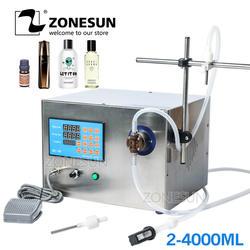 ZONESUN Магнитный насос для напитков духи минеральная вода сок эфирные масла Электрический цифровой управление разливочная машина
