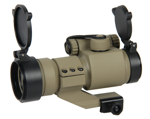 New Arrival And Hot Sale Tactical M2 1x35 Red Dot Scope With Red And Green Illumination
