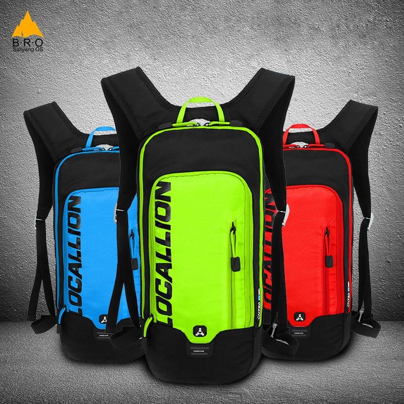 лучшая цена Bicycle Backpack Bladder Outdoor Cycling Hiking Rucksack Bike Bag Pack for Men Women Cycling Backpack 2L TPU Water Bag
