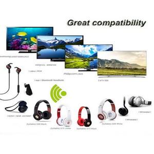 Image 3 - kebidu Bluetooth Transmitter Wireless Bluetooth Audio Transmitter RCA 3.5mm Adapter for TV Headphone PC Laptop Tablet MP3 MP4