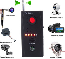 Anti Eavesdropping Device Wireless Full-range All-round GPS CCTV Signal Bug Detectors IP Lens GSM Laser Finders US Plug