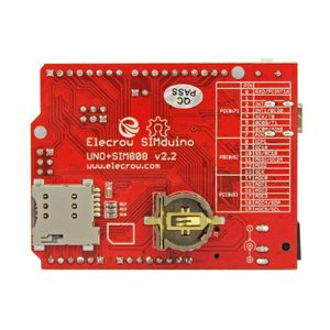 Image 5 - Elecrow Simduino for Arduino UNO and SIM808 Module 2 in 1 DIY Projects GPRS/GSM Development Board Specially Battery Interface