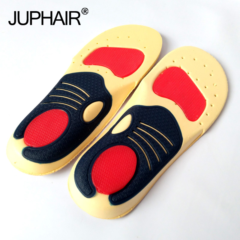 JUP3 Pairs Silicon Insoles Shock Absorption Soft Comfortable Kids Boys Girl Childrens foot pads Care Children function Insoles