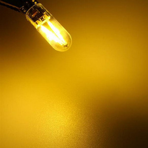 Image 4 - 100Pcs Auto Styling Dc W5W T10 Led Gloeidraad Licht Glas Case Siliconen Case Reading Dome Bulb Lamp 194 168 12V
