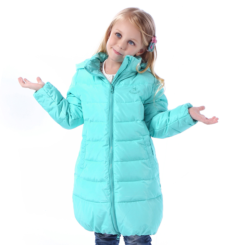 3-10 Years Children Girls Winter Down Coats 80% Duck Down Hooded Long Boys Winter Jacket Kids Outerwear & Coats Warm Clothing 2016 new fashion children down jacket boys coat long sleeve hooded coats girls down coats boys winter jacket outwear 3 colors