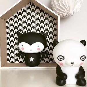 Image 4 - クマledナイトライトランプベビー子供キッズルーム動物漫画ベッドサイドの寝室のリビングルーム装飾的な照明