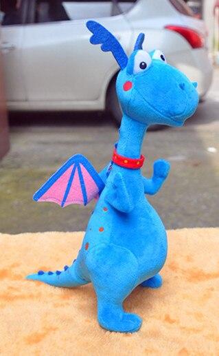 Doc Mcstuffins, Spielzeugärztin Klinik Plüschtiere Blue Dragon Weiche Stofftier Puppen Baby Spielzeug Geschenke für Kinder 39 CM