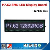 P7.62 привело moudle 122x244 мм 32x16 пикселей 1/8 сканирования rgb led дисплей панели 244x976 мм P7.62 Внутренний светодиодный дисплей