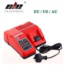 ELE ELEOPTION M18 14.4V-18V Charger for Milwaukee Li-ion Battery C18C C1418C 48-11-1820 48-11-1815 48-11-1840 48-11-1828