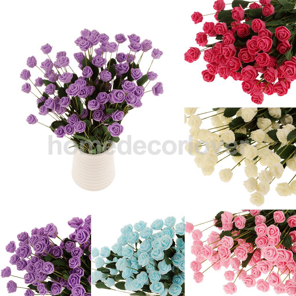 Aliexpress Buy Bulk 6pcs Artificial Flower Foam Rose Bouquet
