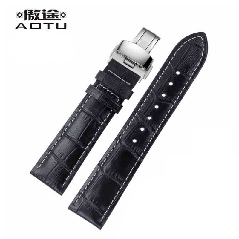 Genuine Leather Watch Straps For Tissot T063 Men Watchbands Vintage Leather Watch Band 20MM Clock Belt Strap Watch Accessories 20mm men s canvas watchbands for tissot t095 10 colors watch strap for male nylon watch band for t095 bracelet belt watchstrap