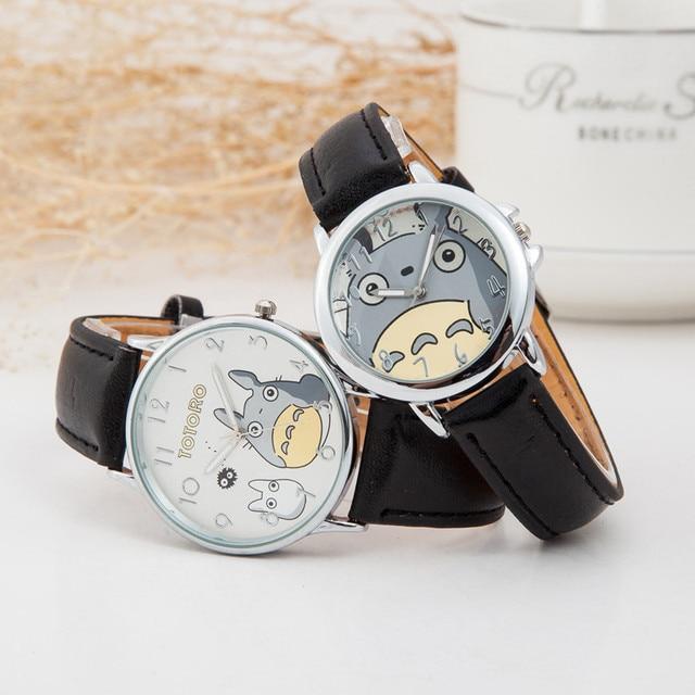 Totoro Cartoon Women Leather Quartz Watch