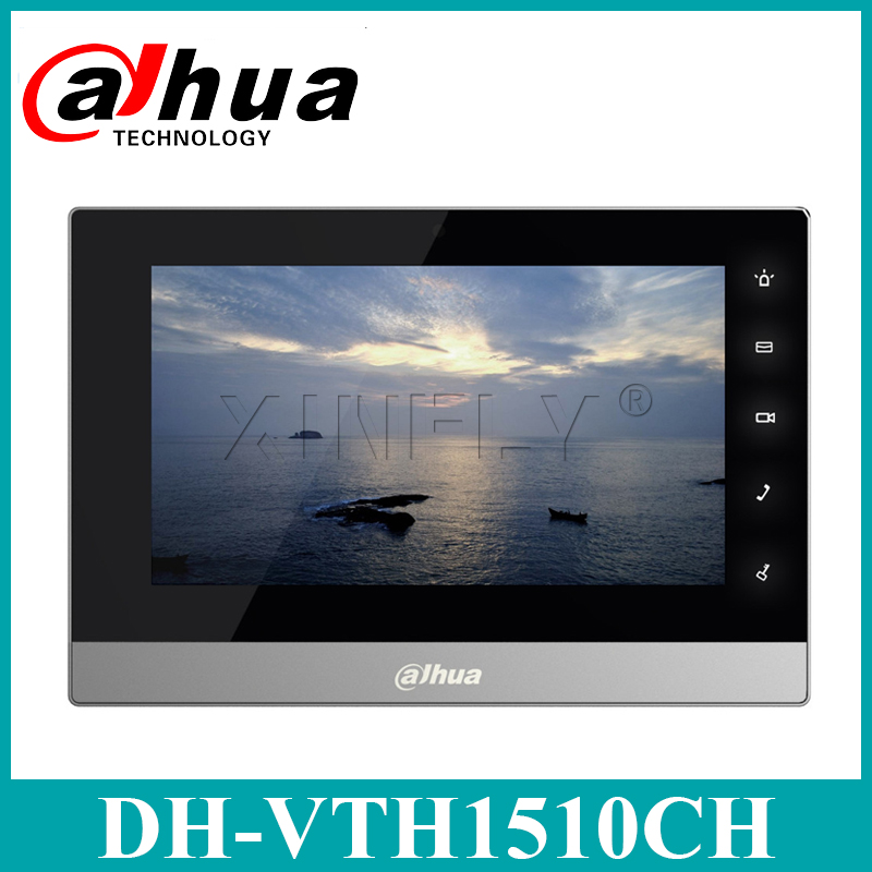 Dahua Original VTH1510CH IP Video Intercom English Version 7- Inch Indoor Touch Screen Monitor With Dahua LOGO