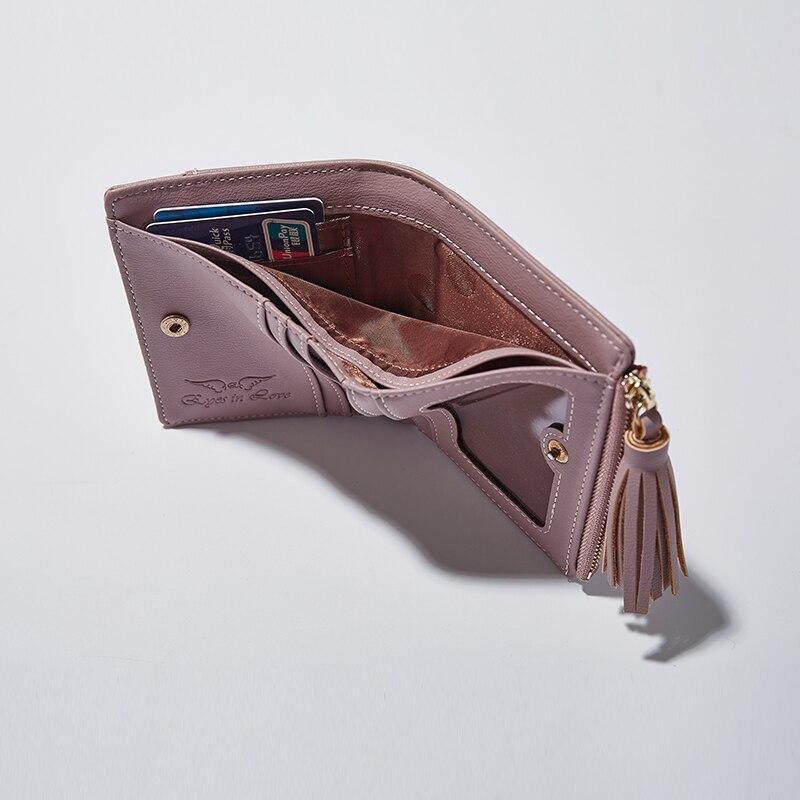 3157 Mini Plånböcker Kvinnor Mode Väskan Racka Purse For Girls - Plånböcker - Foto 4