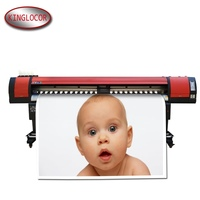 2600MM /260CM/2.6M Large Format Posters Printer Eco Solvent Price Digital Flex Banners Printing Machine