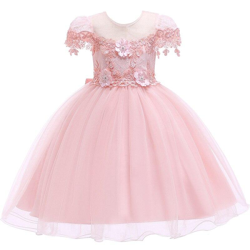 Kids Dress for Girls Princess Tutu Dresses Childrens Flower Dress 2-7 YearsKids Dress for Girls Princess Tutu Dresses Childrens Flower Dress 2-7 Years