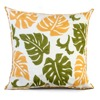 Homing Classic 3D Embroidery Cotton Cushion Cover Summer Cool Leaves Knitting Throw Pillow Case Warm Sweet