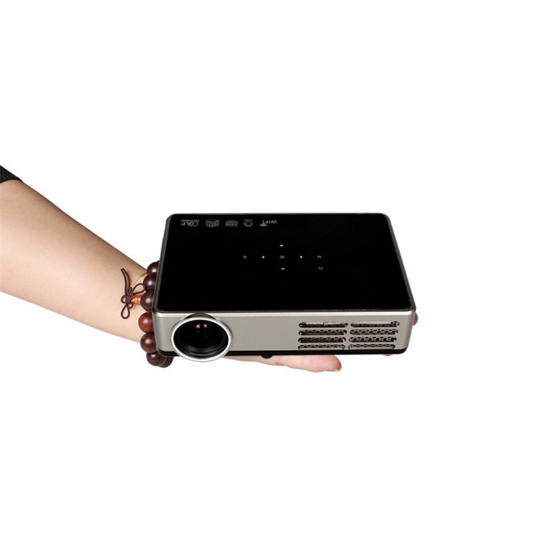 Poner Saund Full Hd New Mini Projector Proyector Led Lcd: Poner Saund Full HD 3000Lumens Projector Mini Smart