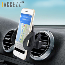 !ACCEZZ Car Phone Holder Universal For iphone XS MAX 5 6 7 8s Plus Huawei Xiaomi Air Vent Clip Mount Mobile Stand