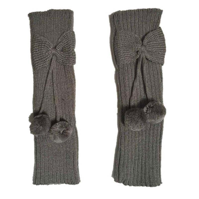 Calentadores de pierna de chicas de neón de punto calcetines de ...