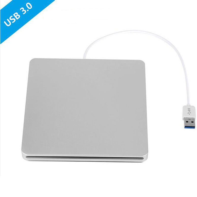 Bluray Drive External DVD RW Burner Writer Slot Load 3D Blue-ray Combo USB 3.0 BD-ROM Player for Apple Macbook Pro iMac Laptop bluray player external usb 3 0 dvd drive blu ray 3d 25g 50g bd rom cd dvd rw burner writer recorder for windows 10 mac os linux