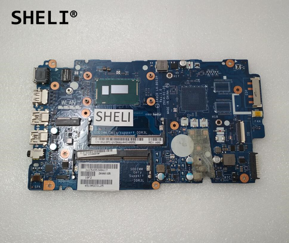 SHELI For Dell 15 5547 14 5447 Motherboard with I5-4210U LA-B012P CN-0G1DPC 0G1DPC G1DPC