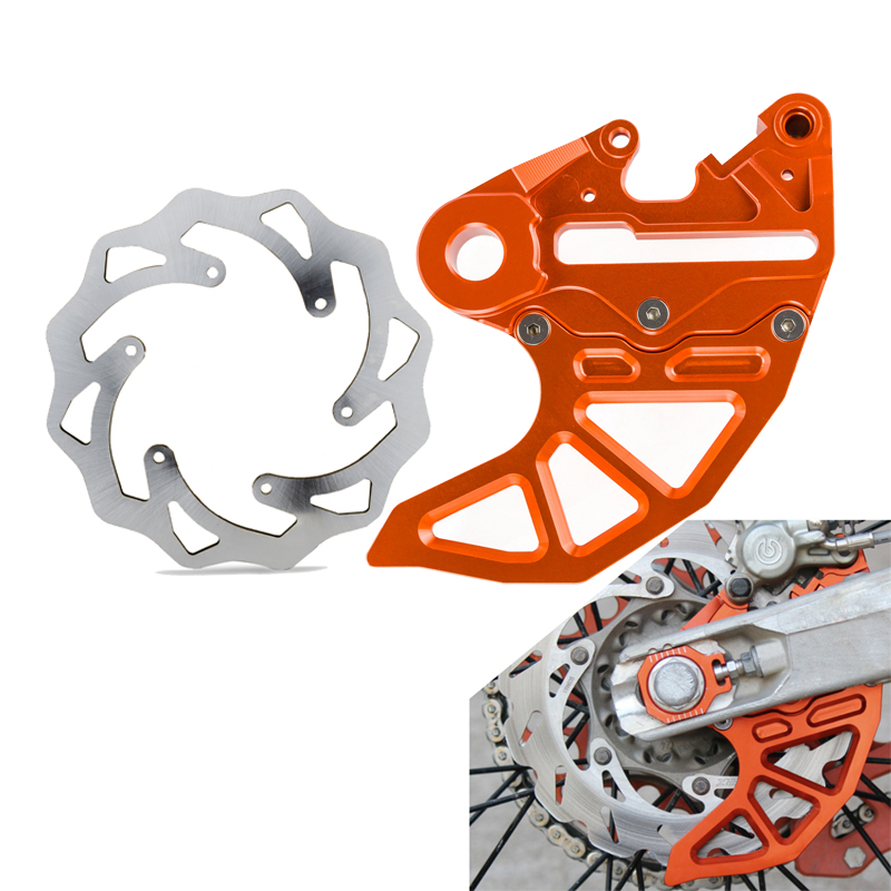 Front Brake Disc Rear Brake Disc Protector Guard Cover For KTM 125 250 300 350 400 450 500 SXF EXC XCW XC SX EXCF XCF 2004-2018Front Brake Disc Rear Brake Disc Protector Guard Cover For KTM 125 250 300 350 400 450 500 SXF EXC XCW XC SX EXCF XCF 2004-2018