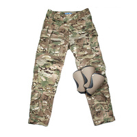 2019 Updated MC Lnin Combat Pants L9 Multicam Combat Pants MC Tactical Pants with knee pads Ripstop CP Cargo knee pads Pants