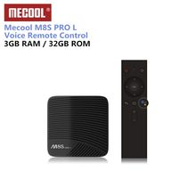 Mecool M8S PRO L Smart TV Box pilot zdalnego sterowania procesor Amlogic S912 Android 7.1 Media Player 3G 16 GB 32 GB Bluetooth 4.1 Set-Top Box(China)