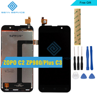 For ZOPO C2 ZP980 LCD Display TP Touch Screen Digitizer Assembly 5 0 ZOPO Plus C3