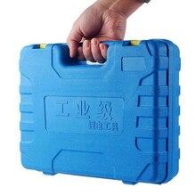12 В Электрическая отвертка Мобильная электрическая коробка инструментов съемное крепление коробка литиевая батарея электрическая дрель пластиковая коробка инструментов