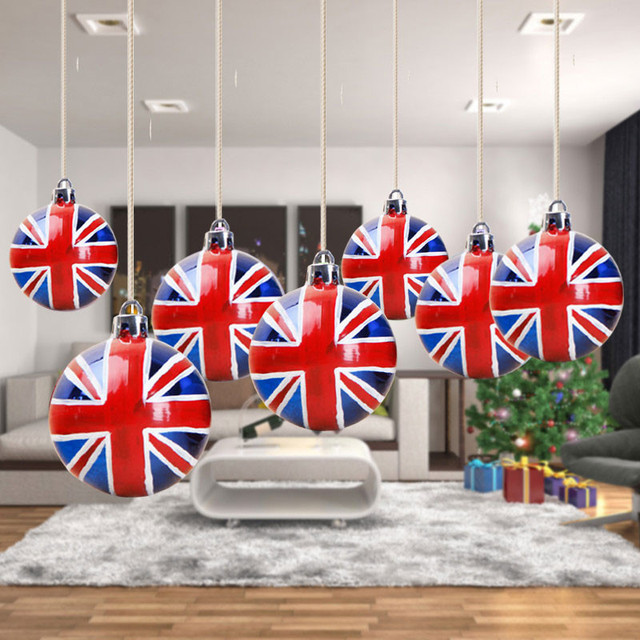 6 teile los weihnachtsbaum ball ornament. Black Bedroom Furniture Sets. Home Design Ideas