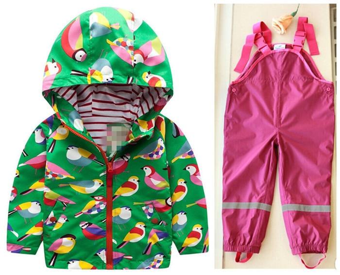 Spring and summer children weatherproof high quality waterproof suit ski suit jacket designer clothes for children