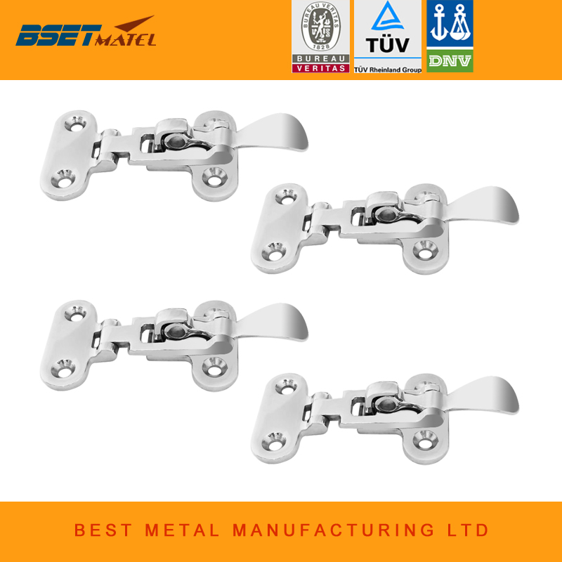 4X BSET MATEL stainless steel 316 Boat Locker deck Hatch Anti-Rattle Latch Fastener Clamp marine hardware open cable connector ring lug copper passing through terminals ot 200a 250a 300a 400a 500a 600a 800a 1000a