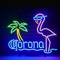 2017 Hot neon lâmpadas comercial personalizado CORONA EXTRA FLAMINGO BEER BAR PUB SINAL de NÉON Noite Luz Luzes Sinal de Propaganda VD17X14