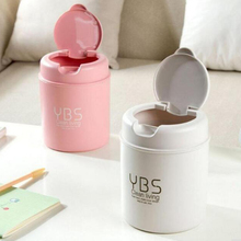 2017 1pc Cute Mini Small Waste Bin Desktop Garbage Basket Table Home Office Trash  Can Storage