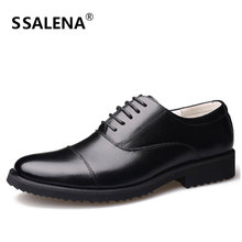 Men Leather Oxford Dress Shoes Male Elegant Wedding Shoes Men Meeting Business Formal Shoes High Quality AA51512