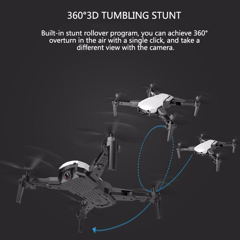 Drone Avec HD 1080 P Wifi Caméra Quadrocopter Planant FPV Quadricoptères 5MP Pliant hélicoptère rc sac de rangement jouet pour garçon - 5