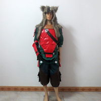 OW Hanzo Shimada Lone Wolf Skin Christmas Party Halloween Uniform Outfit Cosplay Costume Customize Any Size