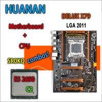 HUANAN Golden Deluxe Version X79 Gaming Motherboard For Intel LGA 2011 ATX Combos E5 2650 C2