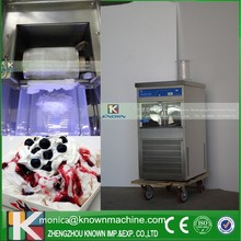 withour refrigerant milk snow machine with 100kg/day capacity on sale