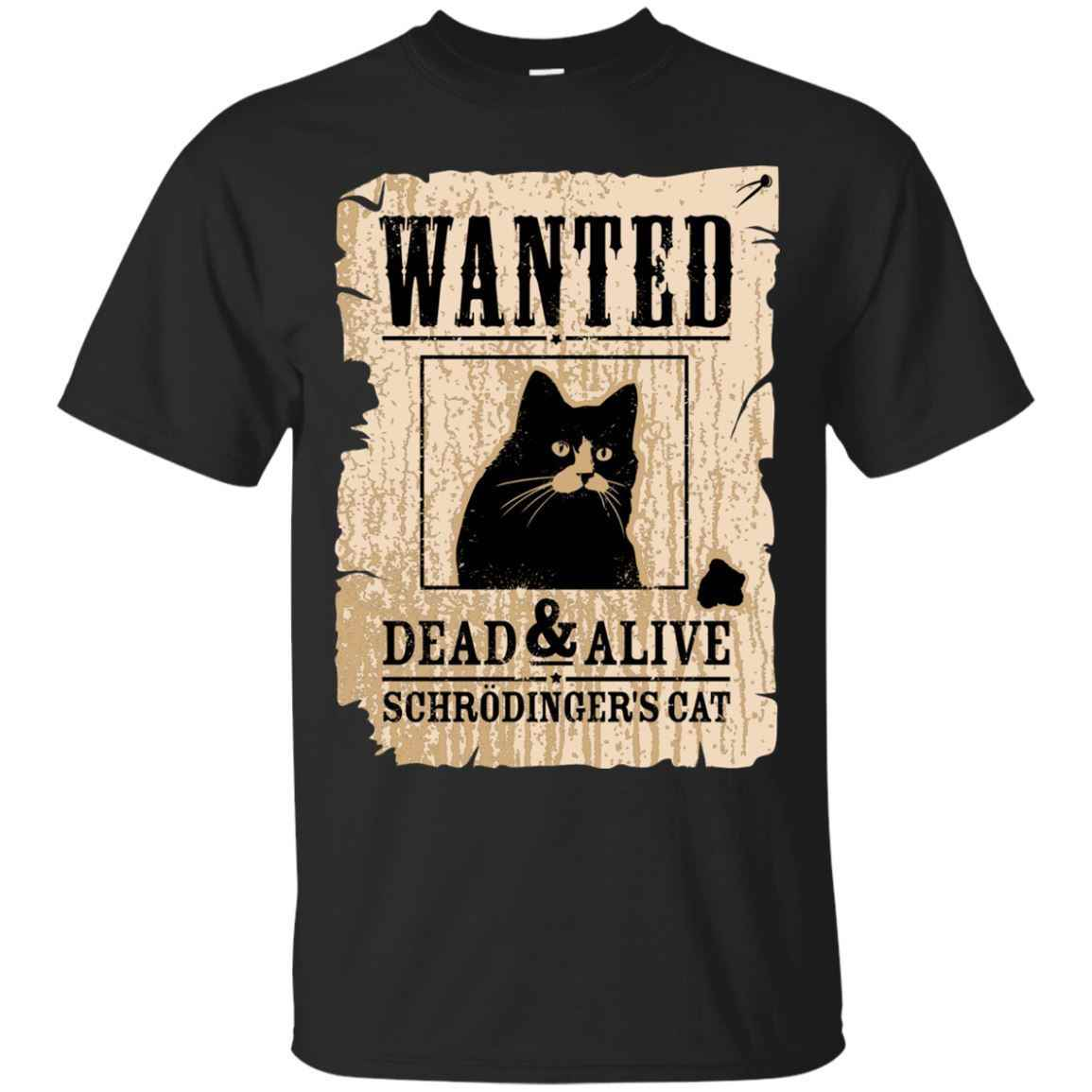 8d8205d5 Detail Feedback Questions about Black T Shirt Funny Wanted Science  Schrodinger's Cat Dead Or Alive Shirt Cool Casual pride t shirt men Unisex  New Fashion on ...