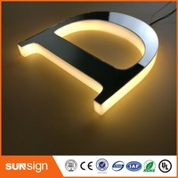 Aliexpress Factory Outlet Alibaba Express Hot Outdoor Acrylic LED illuminated advertising letters