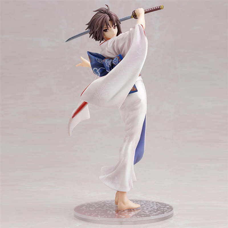 ФОТО Starz 1:8 Ryougi Shiki PVC Action Figures Model Japanese Game the Garden of sinners Toys Player's Collections